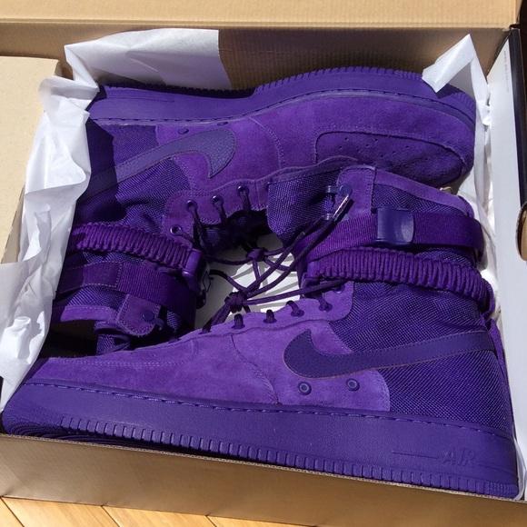 Nike Sf Air Force 86424500 Sneakers Sz